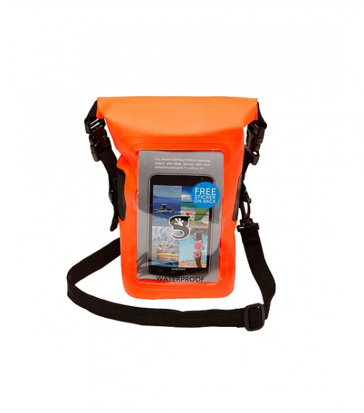 Waterproof Coxswain Bag Bright Orange