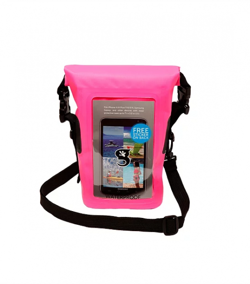 Waterproof Coxswain Bag Pink